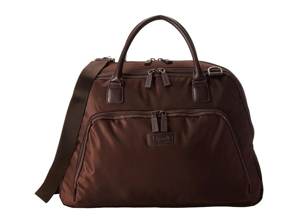 Lipault Paris JPS Series 19 Weekend Tote Espresso Tote Handbags