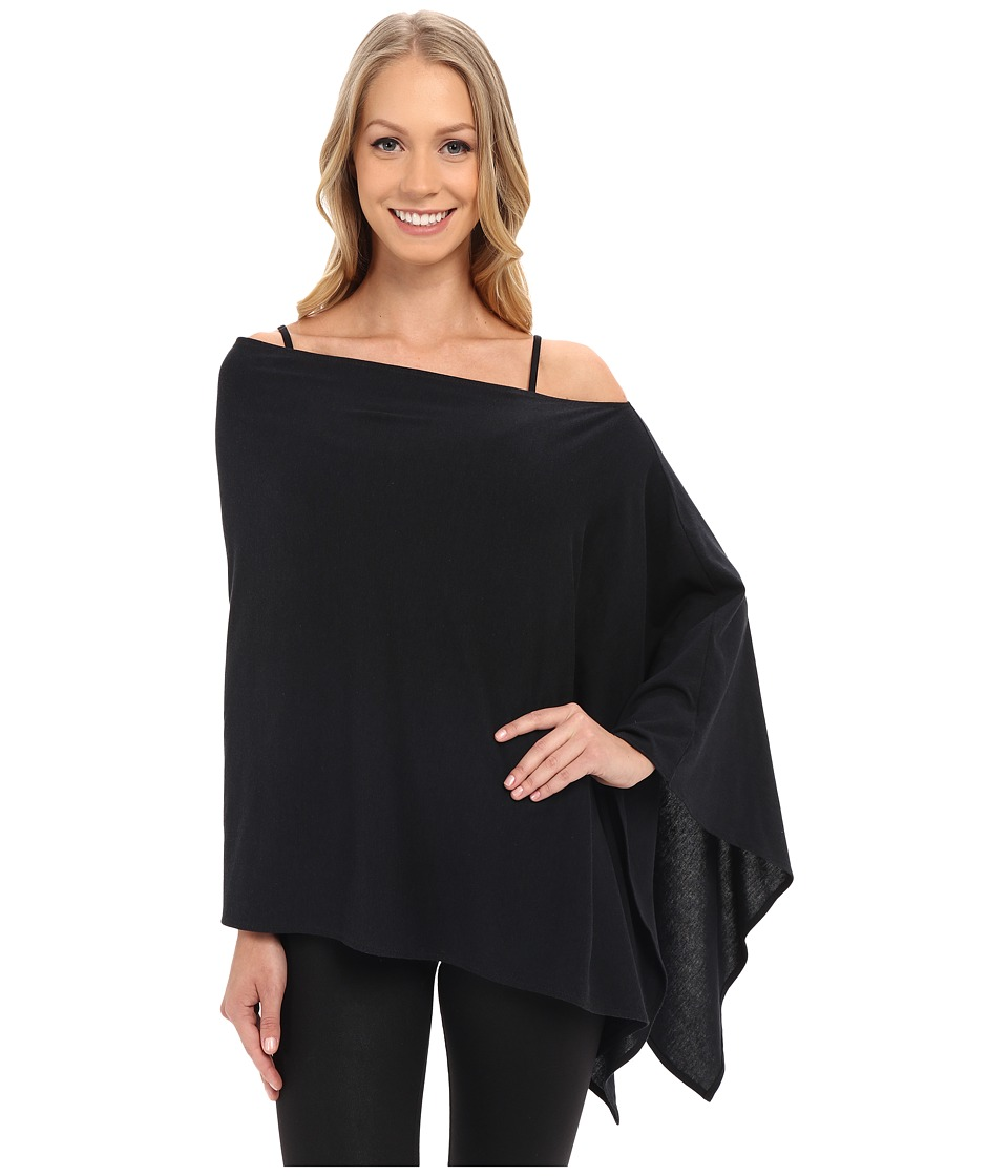 FIG Clothing - Poptun Poncho (Black) Womens Coat