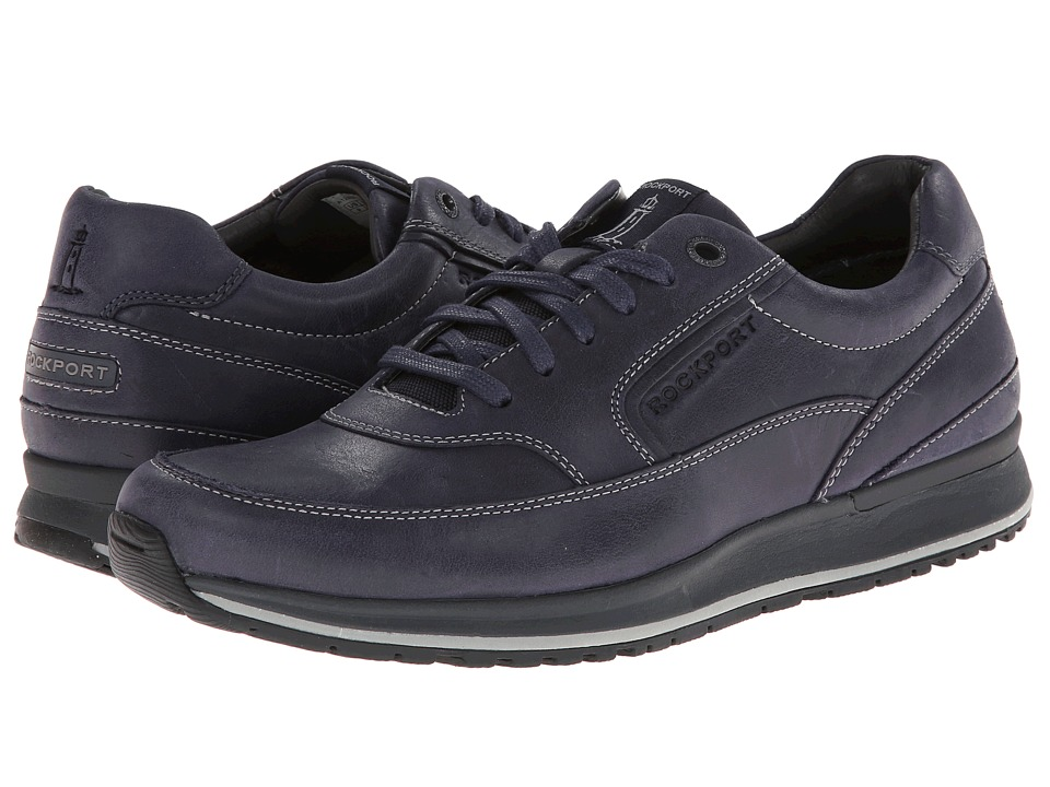 Rockport Crafted Sport Casual Mudguard Oxford (Navy) Men