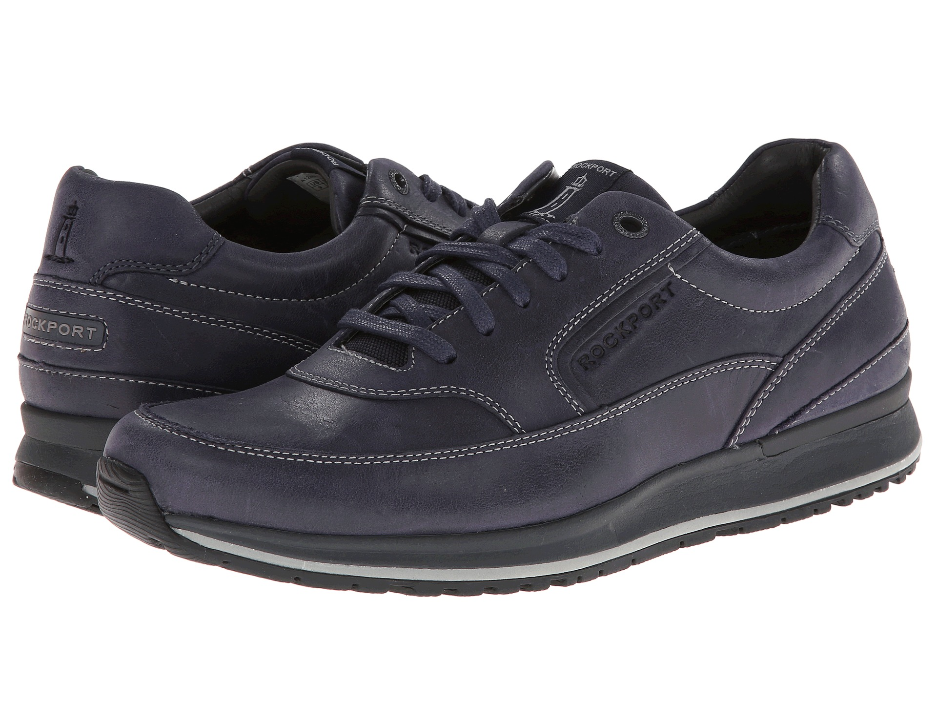 rockport crafted sport casual mudguard oxford zappos
