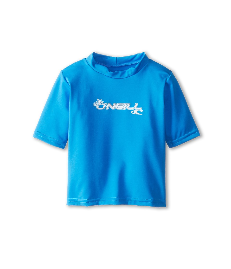 ONeill Kids - Skins S/S Rash Tee (Infant/Toddler) (Brite Blue) Kids Swimwear