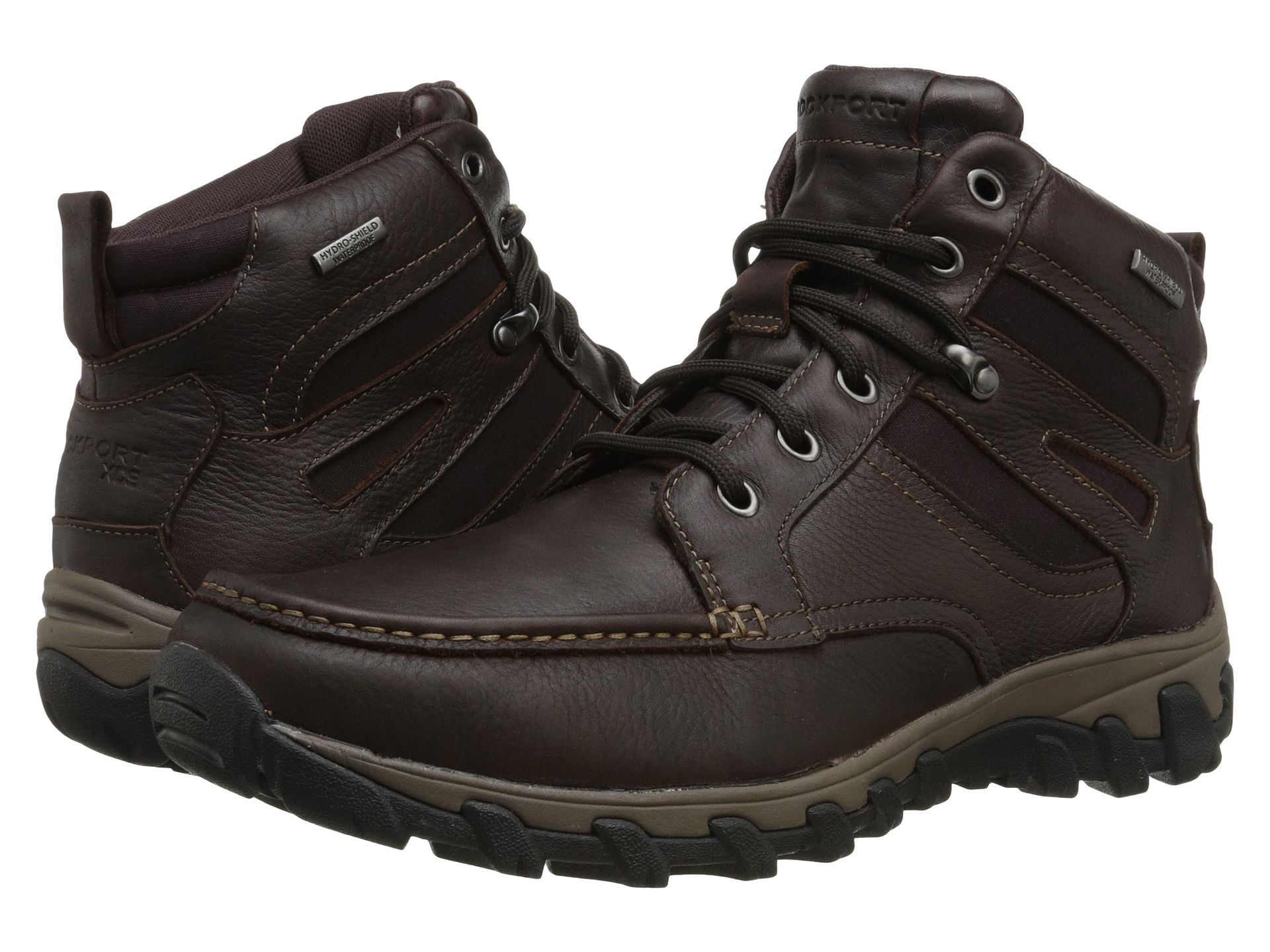rockport cold springs plus mocc toe boot high 7 eyelets