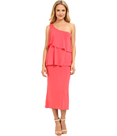 Christin Michaels - Sierra Tiered One Shoulder Dress