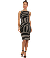 Christin Michaels - Shannon Asymmetrical Tier Dress