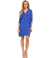 Christin Michaels - Mollie 3/4 Sleeve Wrap Dress