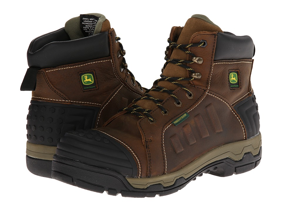 John Deere John Deere - WCT II Waterproof 6 Lace-Up Aluminum Alloy Toe