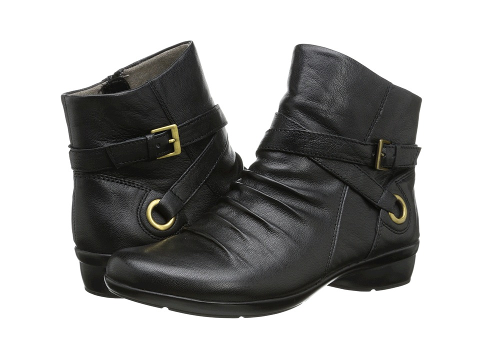 Naturalizer - Cycle (Black Leather) Women's  Boots