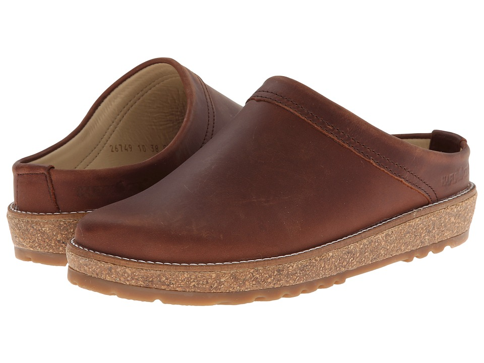 Haflinger View Brown Slippers