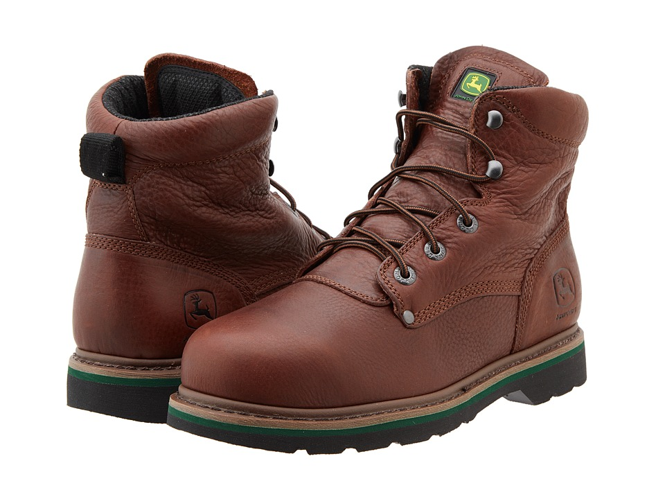 John Deere - 6 Lace-Up Steel Toe