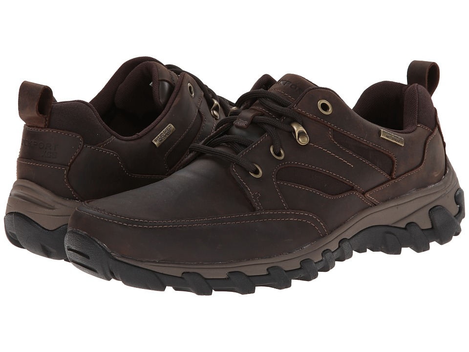 Rockport - Cold Springs Plus Mudguard Oxford (Dark Brown Oiled Nubuc) Mens Lace up casual Shoes
