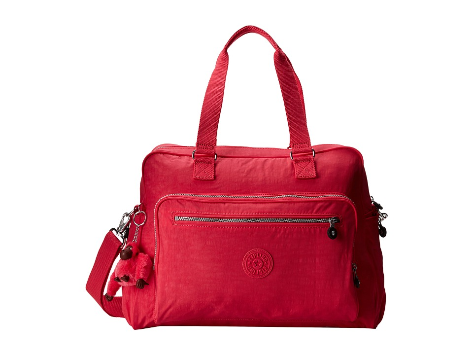 Kipling Alanna Baby Bag Vibrant Pink Handbags