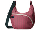 KAVU Singapore Satchel (Pink Slash)