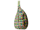 KAVU Rope Bag (Ribbon Stripe)