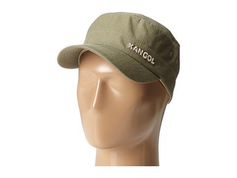 Kangol Denim Army Cap - Beige