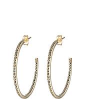 Judith Jack - Gold Basics 35mm Hoop Earring