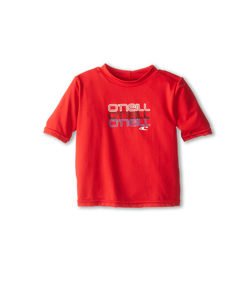 O'Neill Kids Skins S/S Rash Tee (Infant/Toddler/Little Kids)
