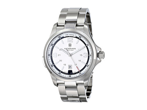 Victorinox Night Vision Swiss - Silver/Stainless Steel