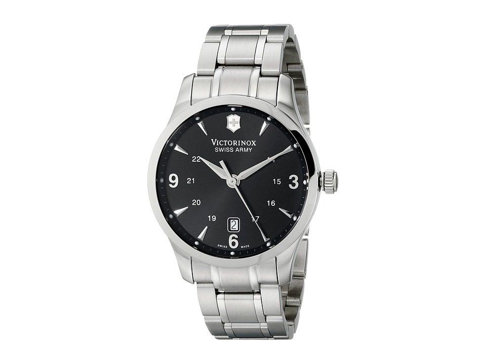 Victorinox Alliance Swiss Black/Stainless Steel Watches