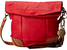 Will Leather Goods Hazel Crossbody (Red/Tan)
