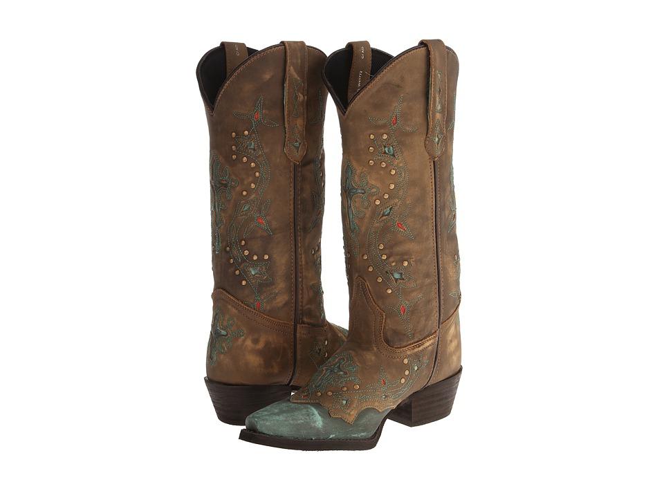 Laredo Cross Point (Turquoise) Women's Boots
