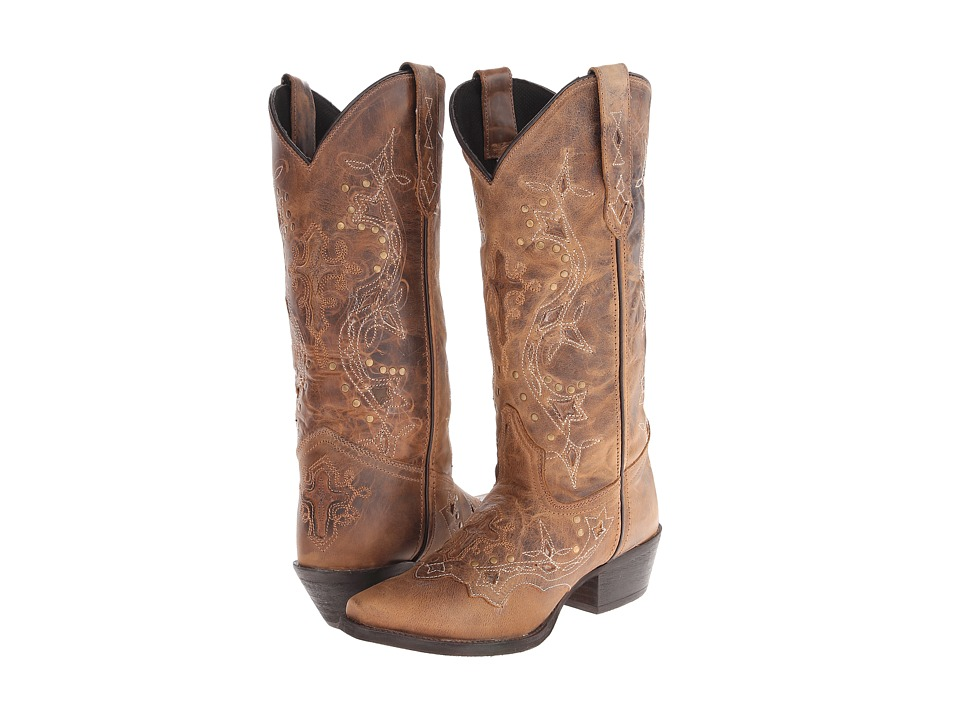 Laredo Cross Point (Brown Rust) Women's Boots