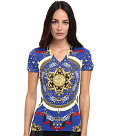 Versace Collection - Printed Jersey T-Shirt