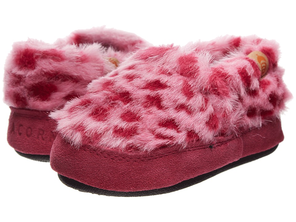 Acorn Kids Acorn Moc (Toddler/Little Kid/Big Kid) (Pink Ocelot) Girl's Shoes