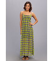 TWO by Vince Camuto - S/L Tribal Maze Maxi Dress