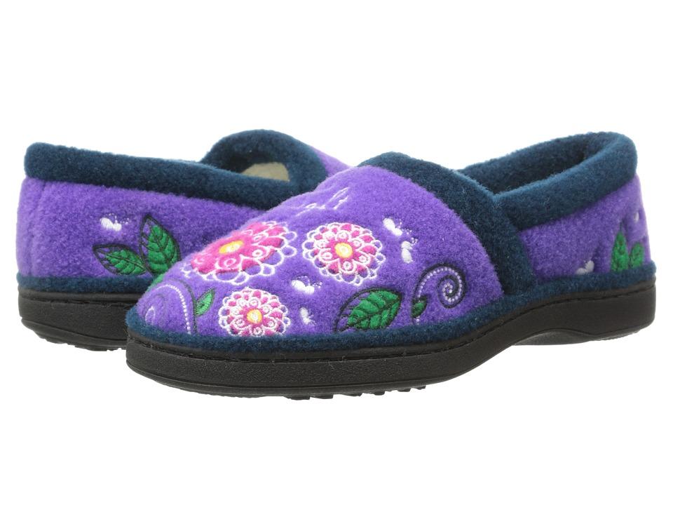 Acorn Kids Applique Moc (Toddler/Little Kid/Big Kid) (Flowerfly) Girl
