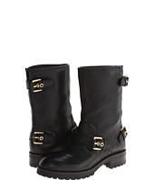 Pierre Balmain - Leather Moto Boot With Buckles