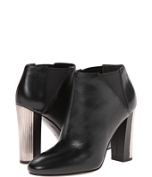 Pierre Balmain - Leather Ankle Bootie With Metal Heel