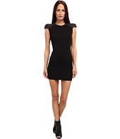 Pierre Balmain - Short Sleeve Dress With Shoulder Embellishment