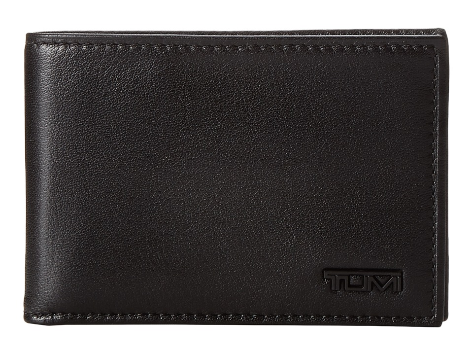 Tumi - Delta - Slim Single Billfold Wallet (Black 1) Wallet
