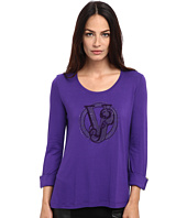 Versace Jeans - Jersey Logo 3/4 Length Sleeve Top