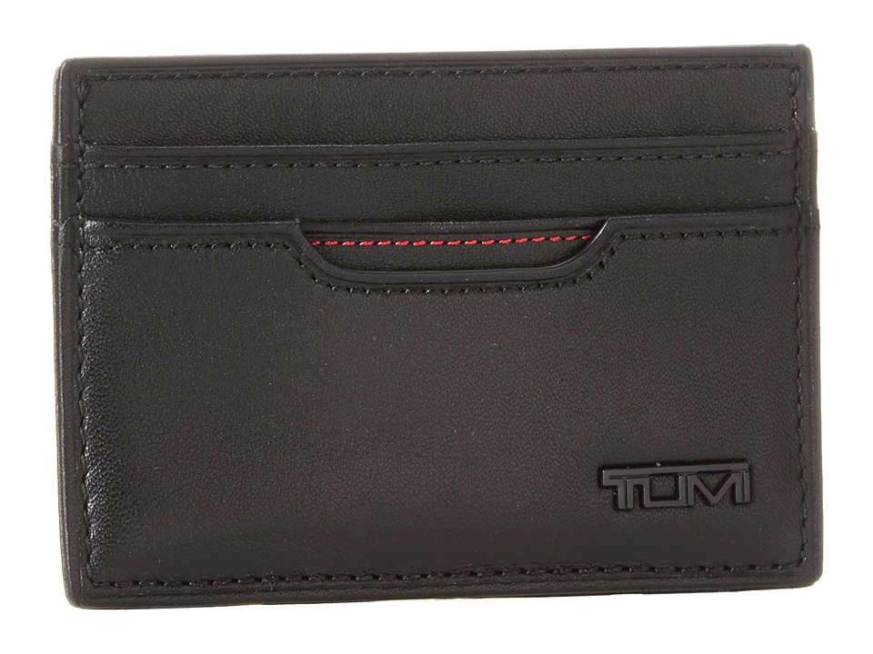 Tumi - Delta - Slim Card Case ID (Black 1) Wallet