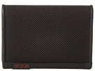 Tumi Alpha Gusseted Card Case with ID (Black)