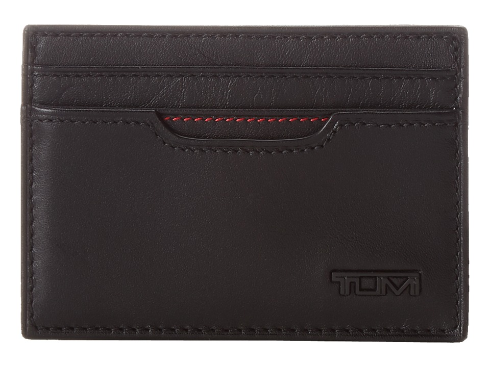Tumi - Delta Money Clip Card Case (Black 1) Wallet