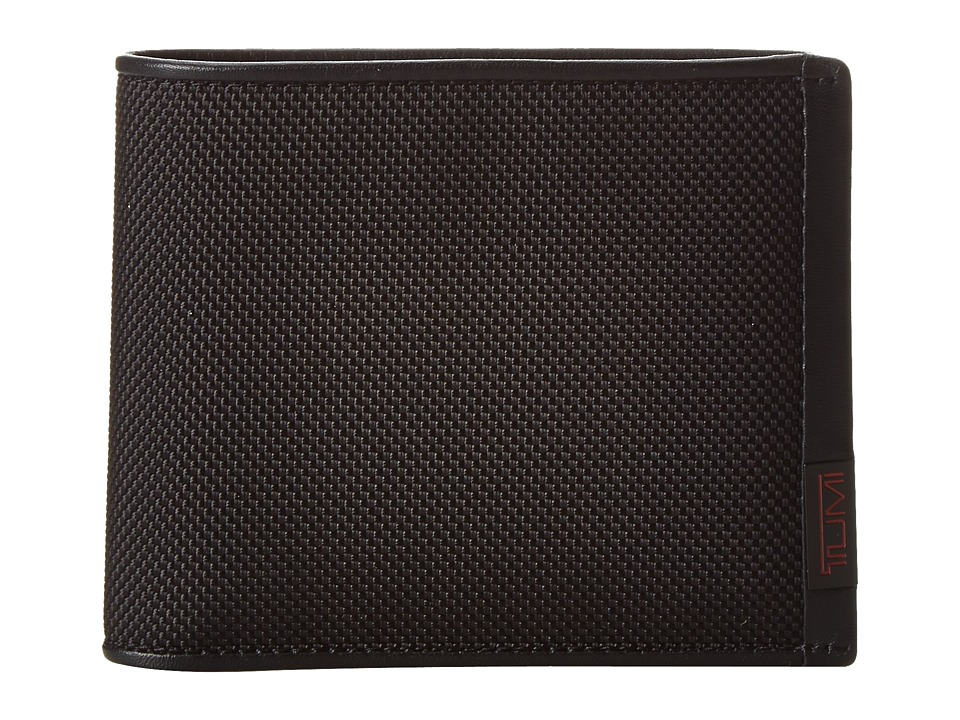 Tumi - Alpha - Global Removable Passcase ID (Black) Wallet