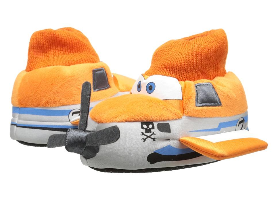 Favorite Characters Disney Planes Sock Top Slipper 1PLF200 (Toddler/Little Kid) (White) Boys Shoes