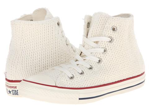 converse winter knit high-top womens sneaker