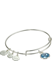 Alex and Ani - March Birthstone Charm Bangle