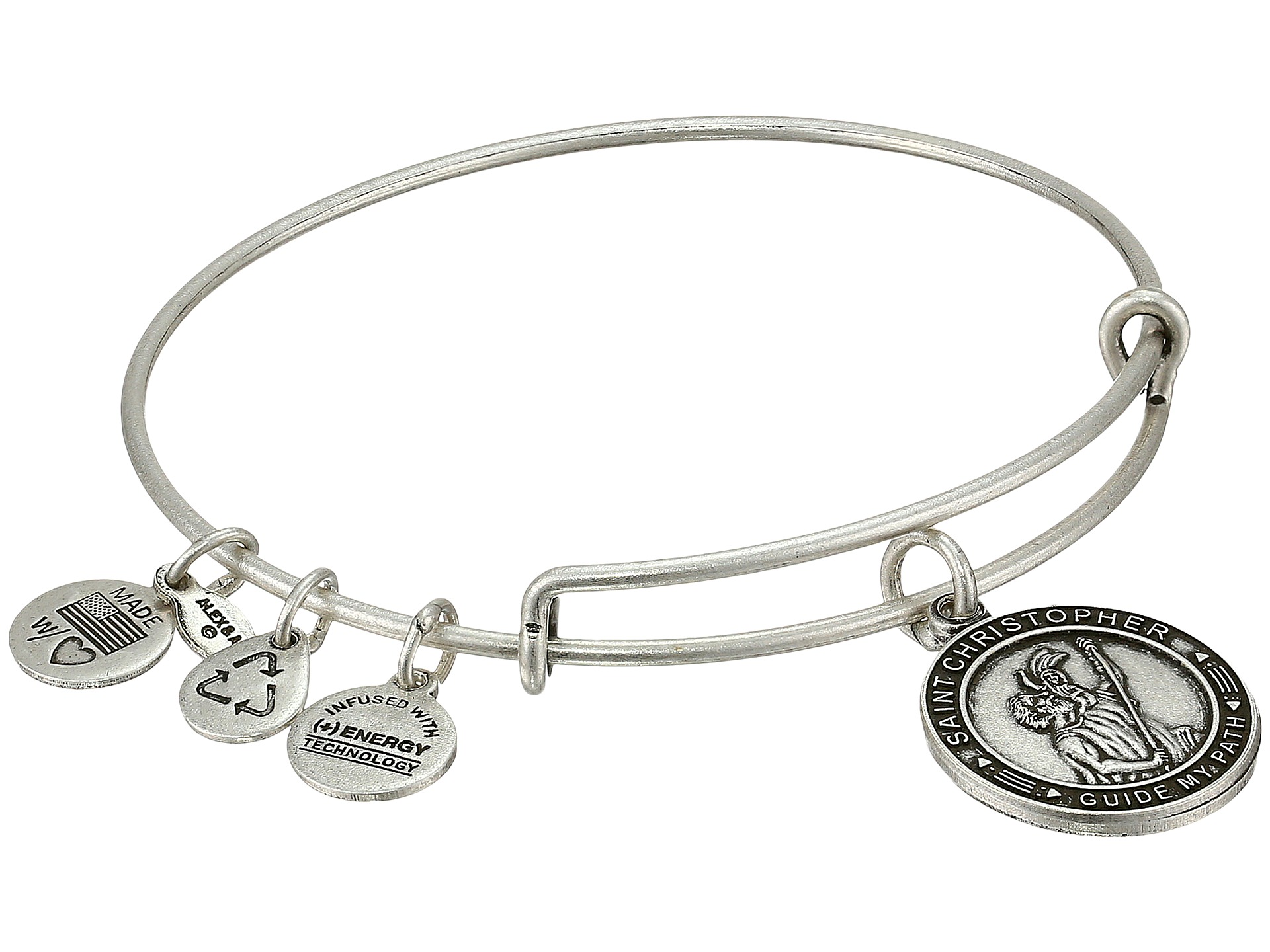 alex and ani christopher charm bangle rafaelian
