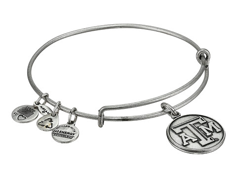 Alex and Ani Texas A&M University® Logo Charm Bangle - Rafaelian Silver Finish