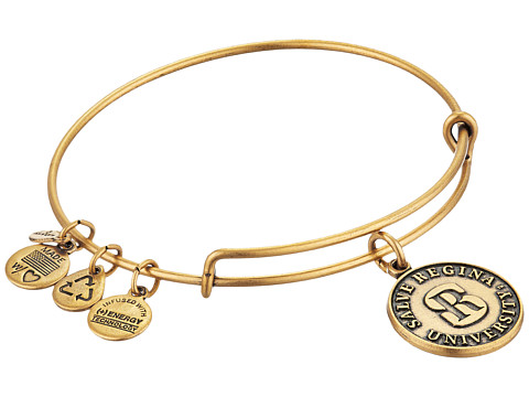 Alex and Ani Salve Regina University Logo Charm Bangle