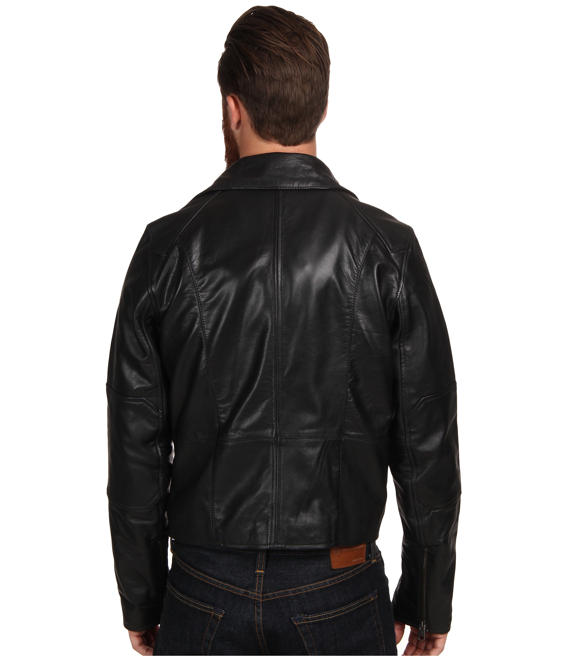 g star camcord perfecto leather jacket shipped free at. Black Bedroom Furniture Sets. Home Design Ideas