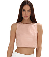tibi - Leather Crop Top