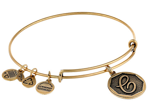Alex and Ani Initial C Charm Bangle