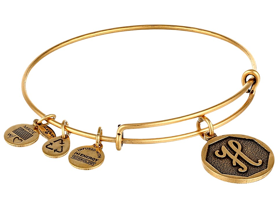 Alex and Ani - Initial H Charm Bangle
