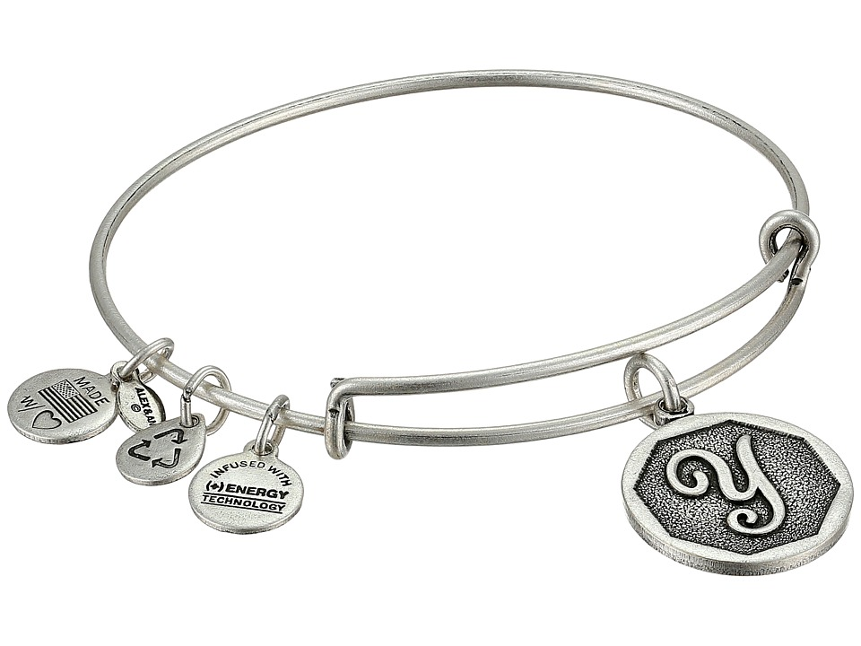 Alex and Ani - Initial Y Charm Bangle