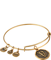 Alex and Ani - Initial V Charm Bangle
